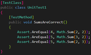 inlinetests